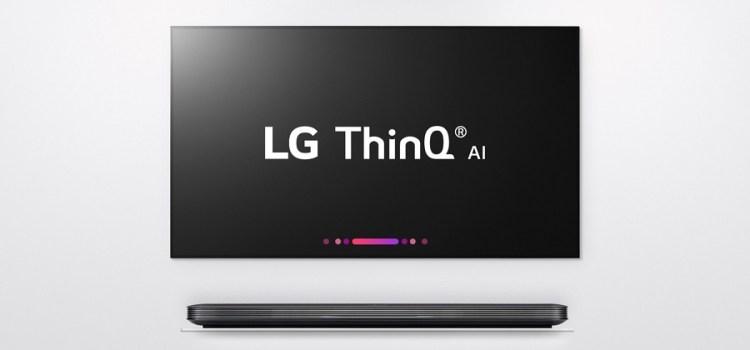 LG, tot mai aproape de televizorul viitorului cu ThinQ și procesorul α (Alpha)