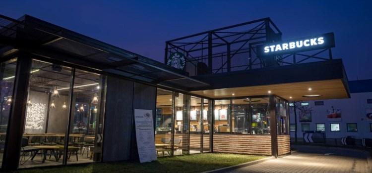 Cum arată primul Starbucks Drive Thru din București – GALERIE FOTO