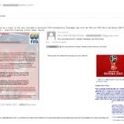 FIFA 2018 și Bitcoin, printre cele mai populare subiecte de spam și phishing