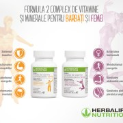 Herbalife lansează Formula 2 Complex de vitamine şi minerale pentru Femei şi Bărbaţi