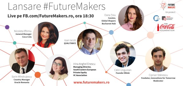 Premii de 20.000 de euro pentru idei antreprenoriale de viitor la Future Makers