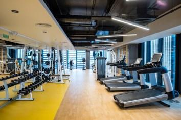 Sediul Central Lidl Romania_sala fitness_2