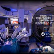 Ponderas Academic Hospital integrează daVinci Xi, cea mai nouă generație de roboți chirurgicali
