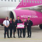 Wizz Air, două rute noi din București și Cluj!