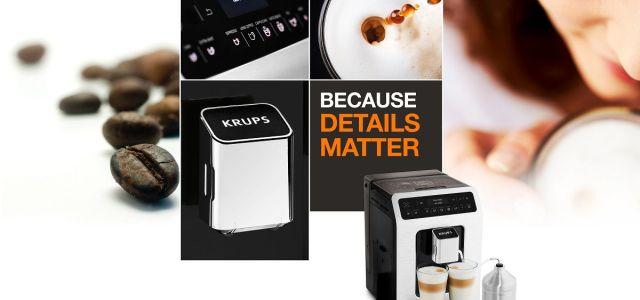 Ristretto, espresso sau cappuccino? Doar printr-o simplă apăsare de buton!
