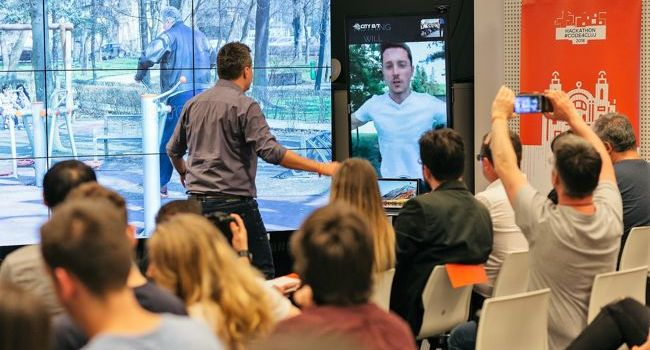 9 soluții pentru un oraș inteligent dezvoltate în cadrul hackathonului CODE4CLUJ 2018