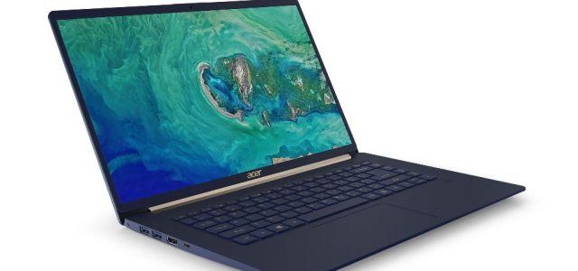 Acer lansează notebook-ul Swift 5 cu ecran de 15 inch și greutate sub 1 kg