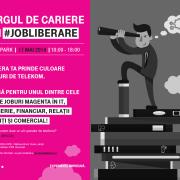 """Telekom Romania organizează târgul de cariere """"HAI #JOBLIBERARE"""""""
