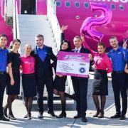 Wizz Air lansează 5 noi rute din Sibiu