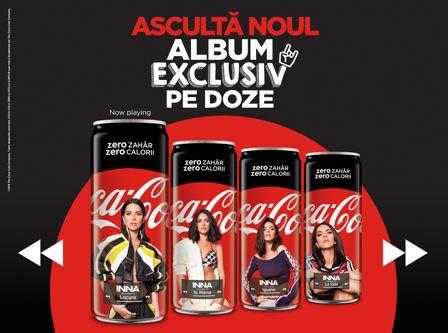 Inovație muzicală Coca-Cola și INNA