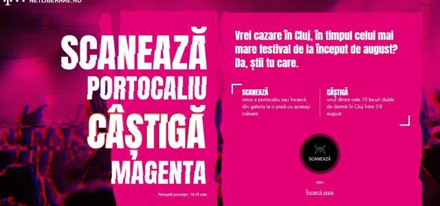 Vrei cazare la cel mai mare festival de la Cluj? Scanează portocaliu!