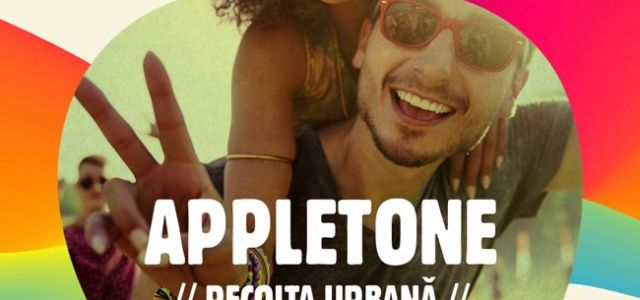 Cum arată line-up-ul Appletone Party #RecoltaUrbana