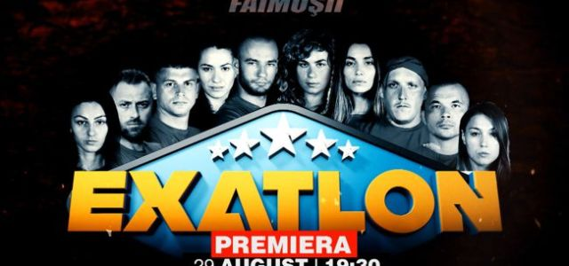 """Exatlon"" revine miercuri, 29 august, la 19:30!"