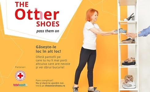 Otter și Crucea Roșie lansează campania de strângere de donații The Otter Shoes