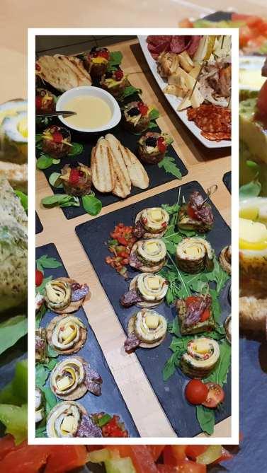 platouri omlete & tartar
