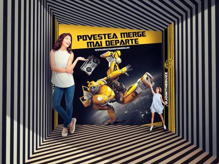 Fanii Transformers pot deveni eroi alături de Bumblebee la Museum of Senses din AFI Cotroceni