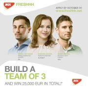 Grupul MOL invită tinerii studenți să se înscrie în competiția Freshhh