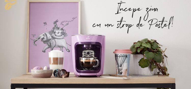 Tchibo lansează colecția de espressoare Cafissimo mini Pastel Edition