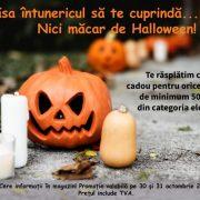 De Halloween, clienții Vitacom primesc cadou un bec halogen ECO