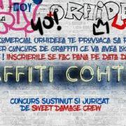 Concurs de graffiti cu premii în Centrul Comercial Orhideea!