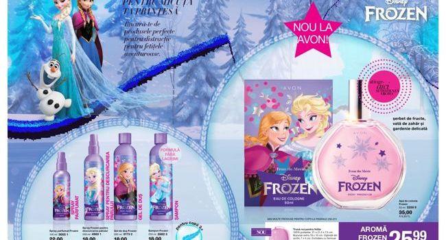 """Cadou pentru copii? Avon lansează gama """"Frozen""""!"""