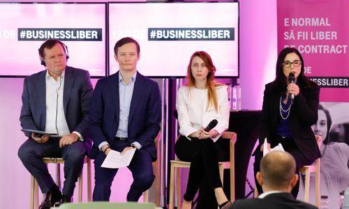 Un an de la lansarea #BUSINESSLIBER: Telekom anunţă 200.000 de antreprenori care utilizează portofoliul Freedom