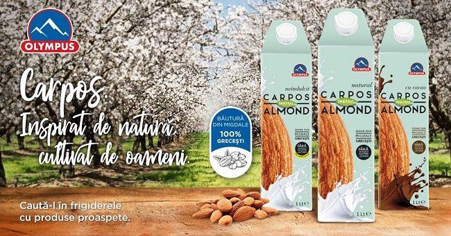 Olympus aduce pe piața locală Carpos, o nouă gamă de băuturi 100% vegetale