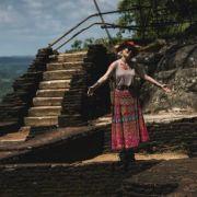 """Gina Pistol, regim de armată la filmările pentru """"Asia Express"""" din Sri Lanka şi India"""