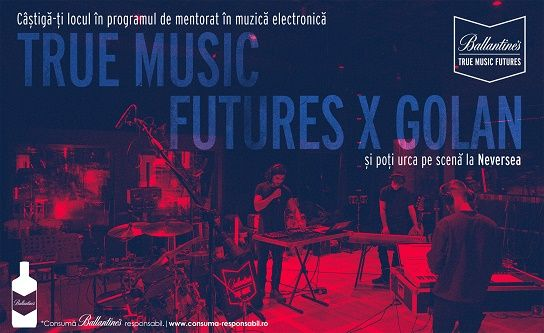Ballantine's lansează True Music Futures!