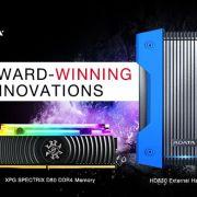 ADATA HD830 și XPG SPECTRIX D80, premiate cu Red Dot Award
