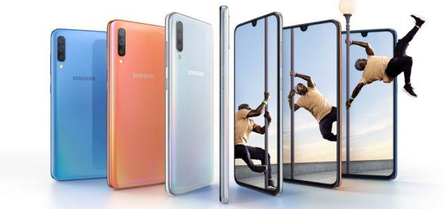 Samsung a anunțat astăzi lansarea lui Galaxy A70