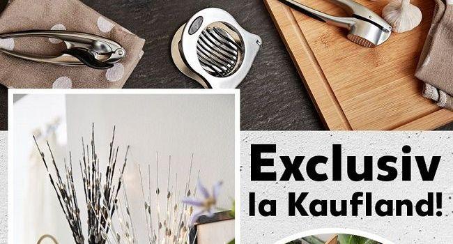 Kaufland lansează mărci proprii în segmentul produselor kitchen & home design