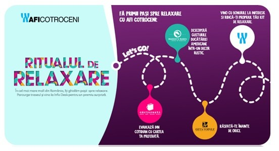 AFI Cotroceni a dat startul primului Ritual de Relaxare la mall