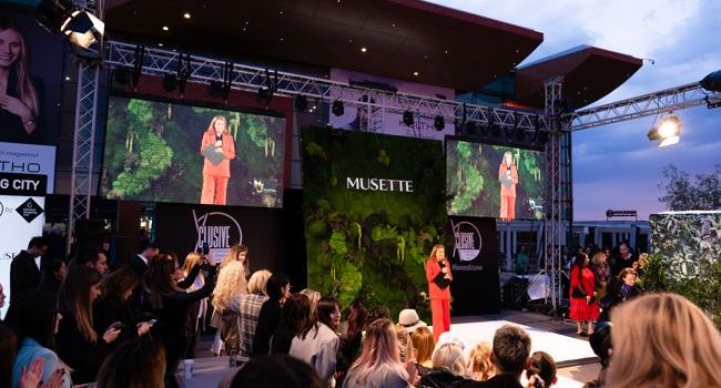 Fashion Show Musette outdoor spectaculos, exclusiv pe esplanada Băneasa Shopping City!
