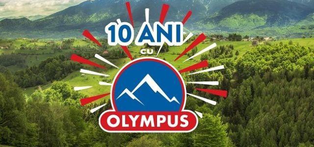 Olympus aniversează zece ani de prezență la raft în România