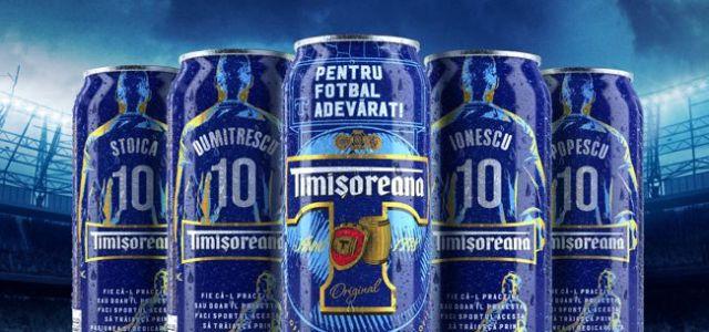 Timișoreana lansează o ediție limitată de cutii de bere inscripționate cu cele mai populare nume de familie din România