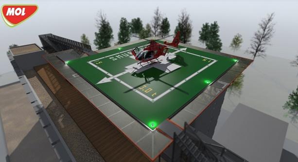 MOL România și Asociația Inima Copiilor construiesc un heliport pe acoperișul Spitalului Marie Curie