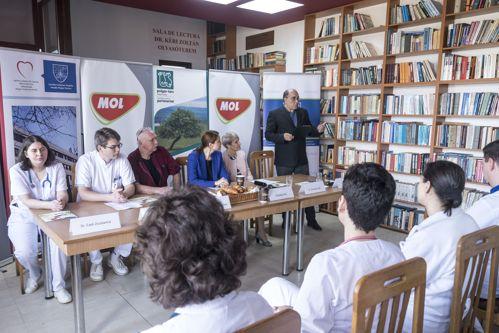 MOL România și Fundația pentru Parteneriat echipează Spitalul de Urgență din Miercurea Ciuc