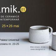 Prima ediție Ceramik, la Palatul Universul – Concentrat de ceramică contemporană!