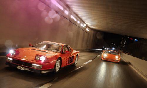 Giurgea și Bratu scot pe străzile Bucureștiului mașini din colecția lui Țiriac!
