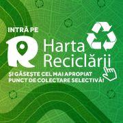 """Cu """"Harta Reciclării"""" găsești punctele de colectare selectivă a deșeurilor reciclabile din România"""