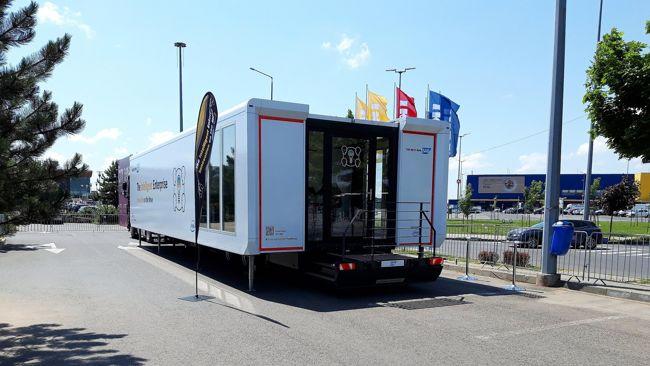 """SAP aduce la București """"40 de tone"""" de inovații tehnologice"""