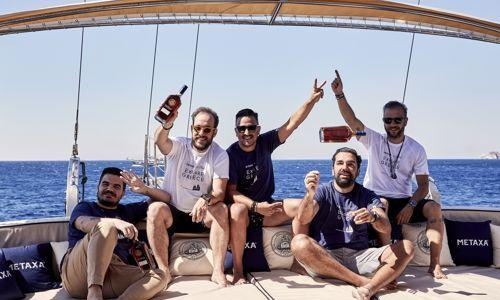 Metaxa & The Clumsies Atena au plecat într-o călătorie pentru a explora Grecia!
