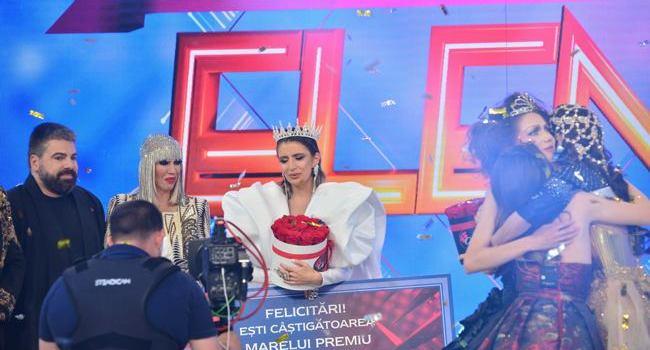 """Elena, câştigătoarea sezonului cinci """"Bravo, ai stil!"""": """"Parca sunt intr-un vis!"""""""