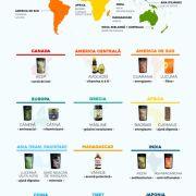 Cum arată harta lumii în 22 de superalimente