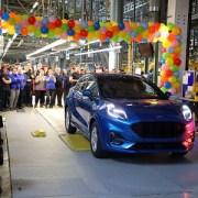Ford a lansat la Craiova producția noului Puma, primul vehicul hibrid construit în România