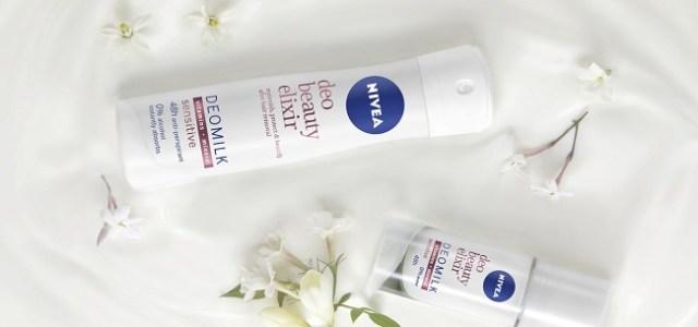 NIVEA Deo Beauty Elixir, prima gamă de deodorante cu extract prețios din lapte