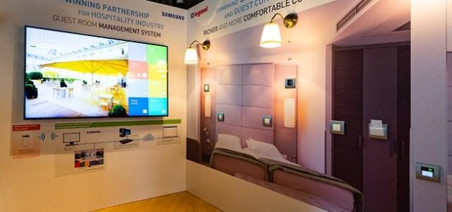 Legrand și Samsung lansează, în premieră, în România o soluție pentru camere de hotel inteligente