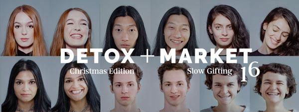 DETOX+MARKET Slow Gifting: editia de Craciun a targului aduce in prim-plan oameni si emotii autentice