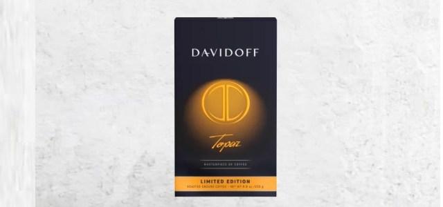 Davidoff Café continuă tradiția lansărilor în ediție specială, cu Davidoff Café Topaz!